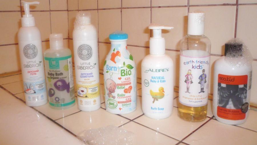 7 детских шампуней